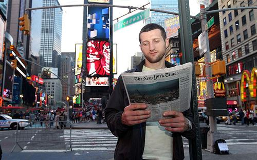 Froch v Bute to be shown live in Times Square