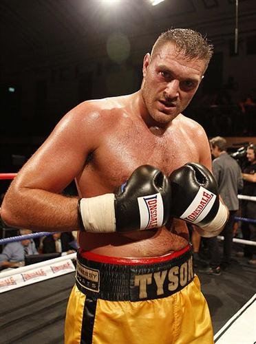 'You'll never see me complain about a bad toe' - Tyson Fury